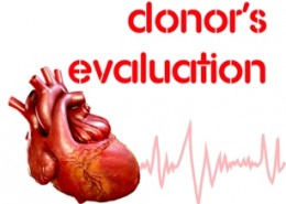 Donor's evaluation